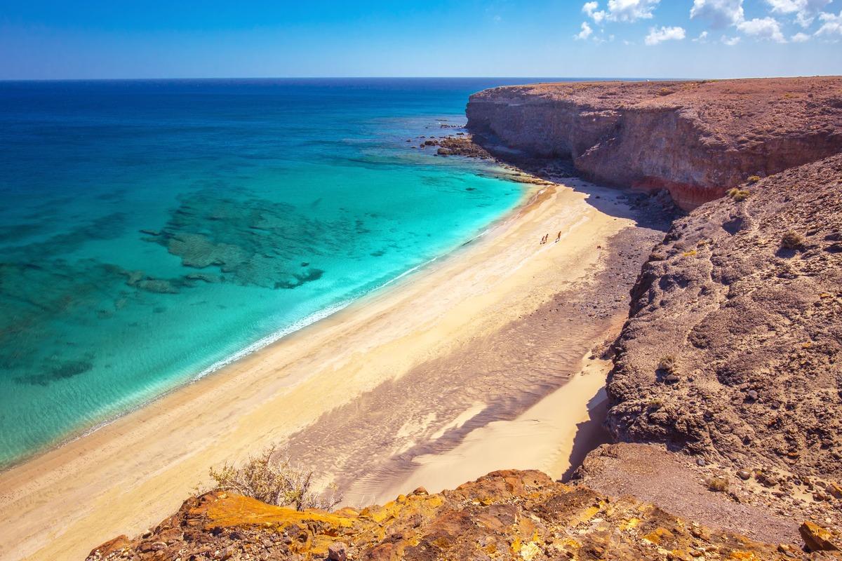 Playa Morro Jable en Fuerteventura