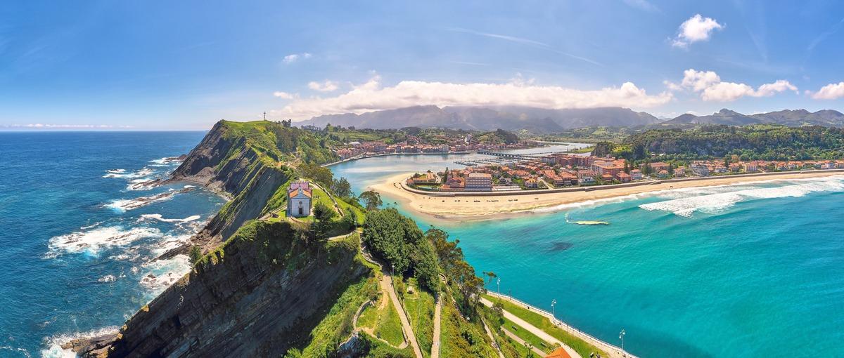 Vista panorámica de Asturias
