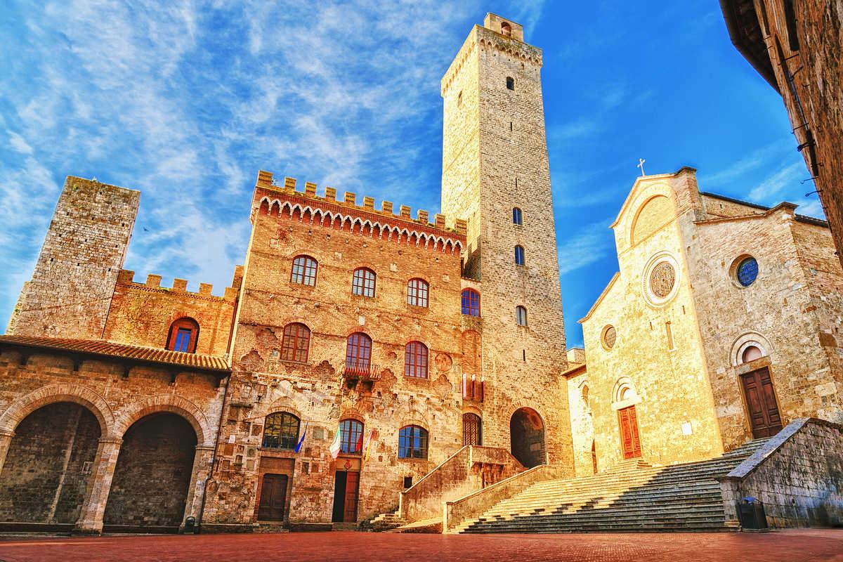 San Gimignano, plaza principal